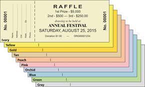 raffe tickets
